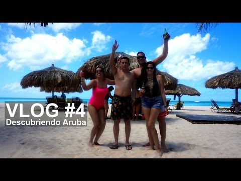 Eagle Beach & Shopping en ARUBA | VLOG #4
