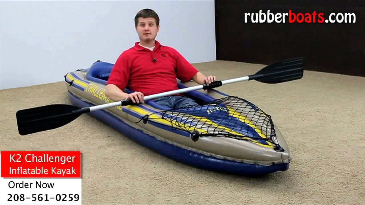 Intex K2 Challenger Inflatable Kayak Video Review By Rubber Boats