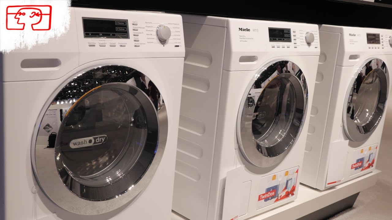 Miele wt der waschtrockner der zukunft youtube