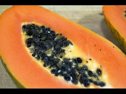 Bolitas de papaya para adelgazar