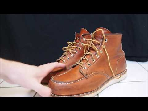 Red Wing Moc Toe 6' Boot # 875 Oro Legacy - 1 year review