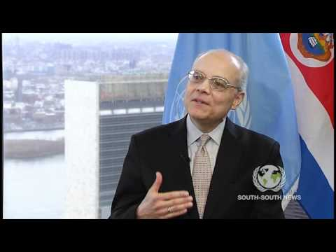 Interview with Eduardo Ulibarri U.N. Ambassador of Costa Rica