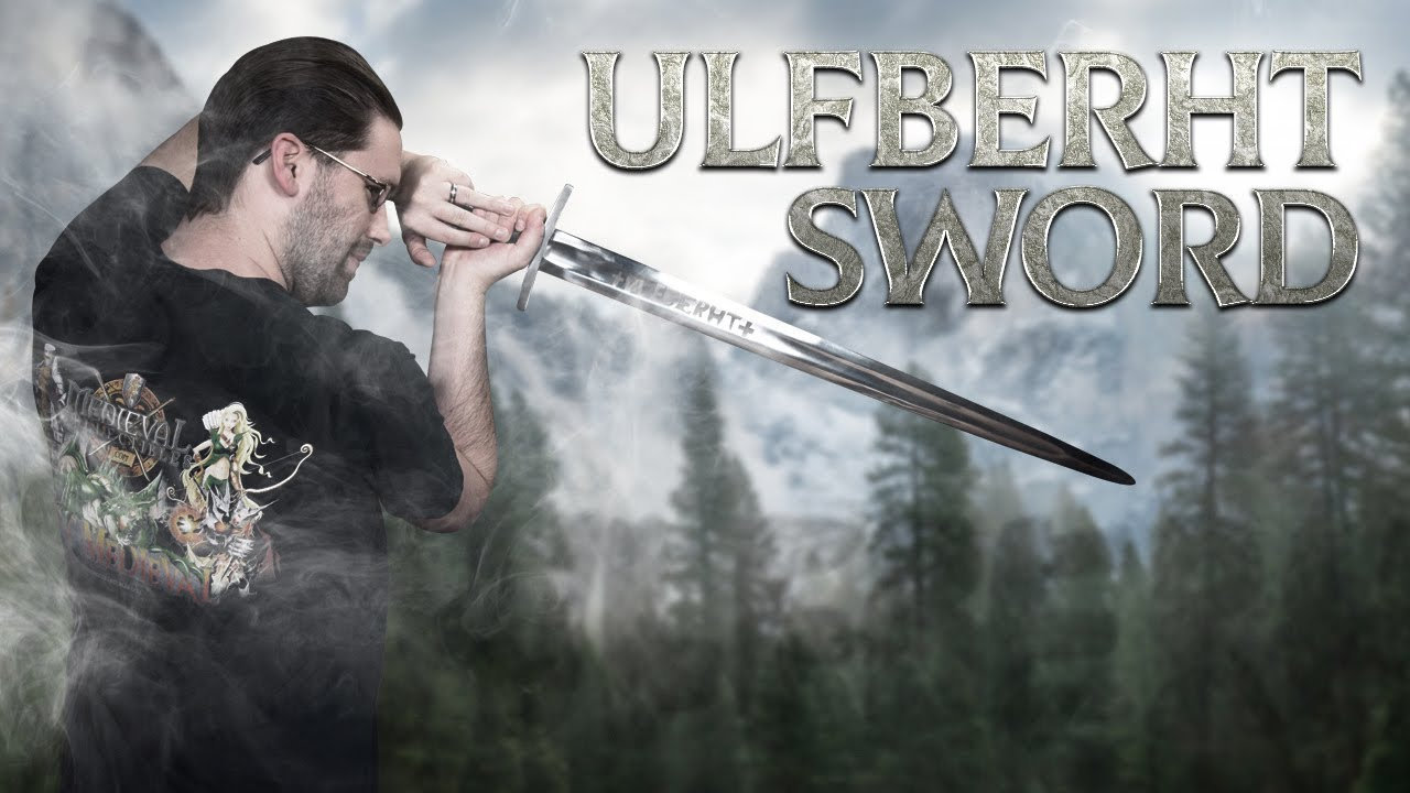 500864 Viking Ulfberht Sword from Medieval Collectibles - YouTube 416112cabc