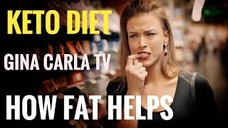 Gina Carla TV 🥑🥗 Fat Can Help Lose BodyFat #Keto Diet!