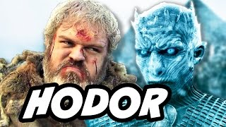 Game Of Thrones Season 7 Hodor White Walkers Theory