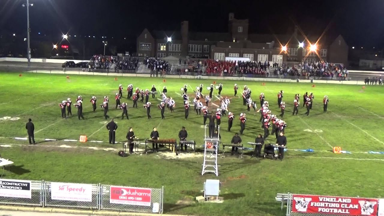Vineland High School Marching Band 11-7-15