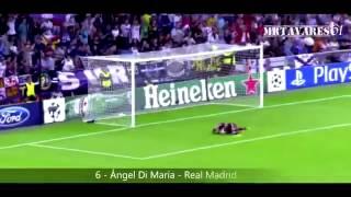 أجمل 10 أهداف في الجولة الثانية من أبطال أوروبا