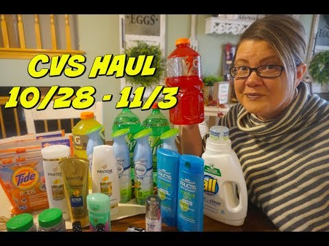 CVS HAUL 10/28 - 11/3 |  Awesome Moneymakers & Freebies!