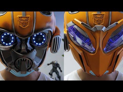 [Unboxing] Killer Body -Transformer Bumblebee Electronic Transforms Helmet