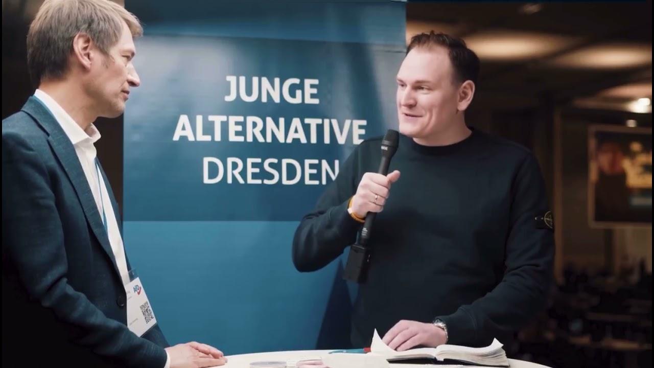 11.04.2021  Bundesparteitag Dresden: Kurzinterview mit Götz Frömming