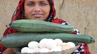 Farm Fresh Squash Recipe Healthy Fresh Squash & Egg Cooking Summer Squash Curry Village Food