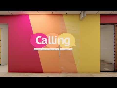 """Recorrido 3D de call center """"Calling"""" , lima. Peru"""