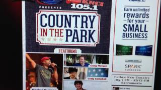 KNCI Country in the Park moved to Cal Expo