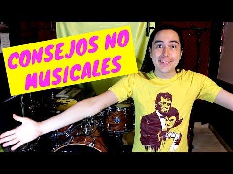 Consejos No Musicales que todo músico debería saber