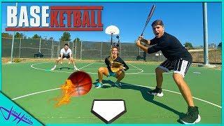 BASEBALL + BASKETBALL 5 on 5 TEAM CHALLENGE!