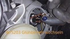 W203 Blinker Birne Wechseln