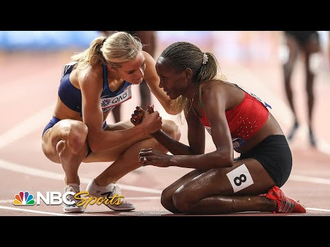 Beatrice Chepkoech (KEN) and Emma Coburn (USA) go 1-2 in Steeplechase; 2019 Worlds | NBC Sports