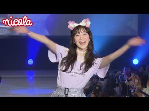 ニコラ東京開放日2018 ニコモファッションショー