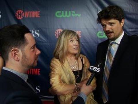 Fall Ps  CBS Press Tour Red Carpet: Mimi Kennedy & Matt Jones