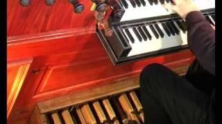 """Johann Sebastian Bach: """"Nun komm der Heiden Heiland"""" BWV 659  - WIM STROMAN - Garrelsorgel,"""