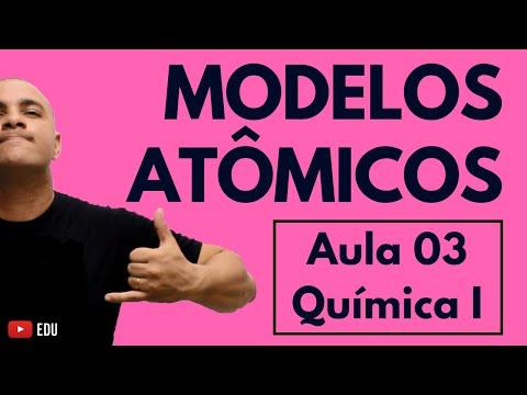 Leis Ponderais E Modelos Atômicos: Dalton, Thomson, Rutherford E Bohr   Aula 03 (Química I)