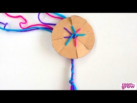 How To Make Friendship Celet With Cardboard Loom