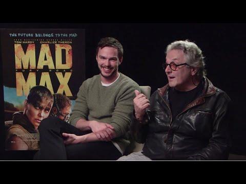 Nicholas Hoult & George Miller - Mad Max: Fury Road Interview HD