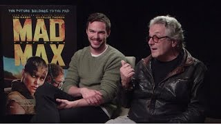Nicholas Hoult & George Miller - Mad Max: Fury Road Interview HD