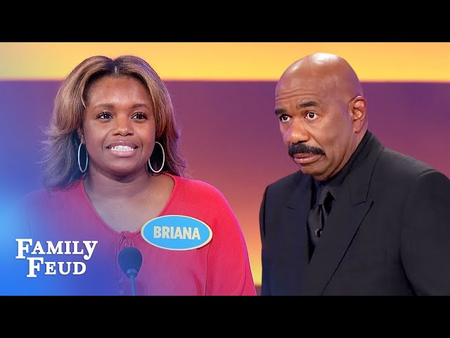 Steve Harvey spends $$$ on this! He says it should be #1!  | Family Feud