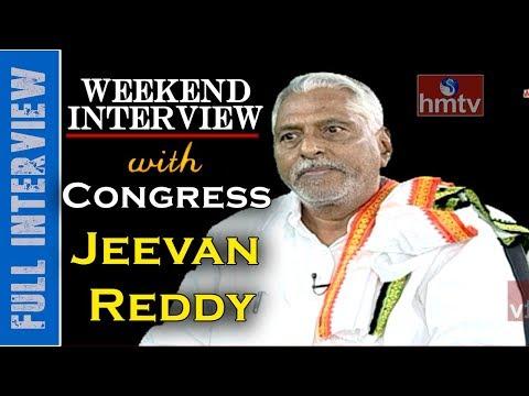Jagtial Congress MLA Jeevan Reddy Special Interview | hmtv News