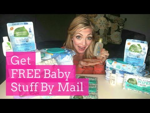 How To Get $1000's of Free Baby Samples By Mail