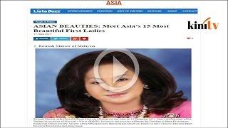 Rosmah - isteri pemimpin kedua tercantik di Asia