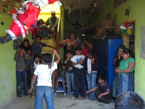 Volunteer in Guatemala - Cultural Embrace H.U.G. Christmas Party Travel Video