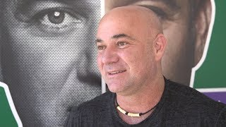 Andre Agassi On Andy Murray & The World Cup