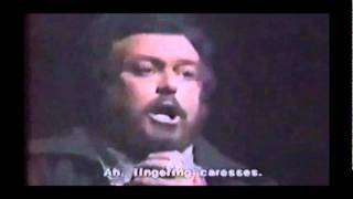 Puccini - Tosca - E lucevan le stelle - Pavarotti as Cavaradossi