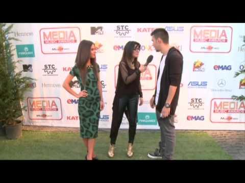 Mellina, Doddy si Vescan - Interviu Media Music Awards - Sibiu, 2014