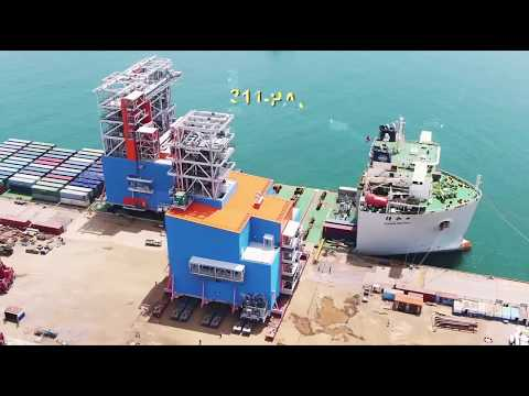 China-Russian energy cooperation Qingdao, Shandong