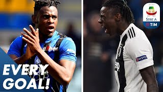 Kean is Juve's new superstar & Zapata keeps breaking records! | EVERY Goal | Serie A