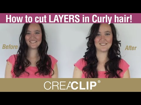 How to cut Layers in Curly Hair at Home