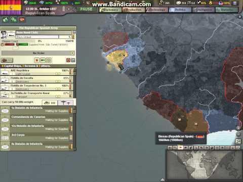 Heart of Iron 3 Republican Spain part 10 walkthrough