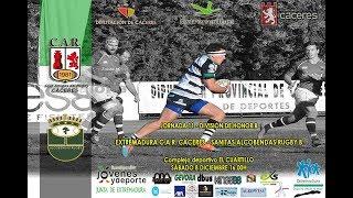 CAR Cáceres - Sanitas Alcobendas Rugby B (División de Honor B 18/19)