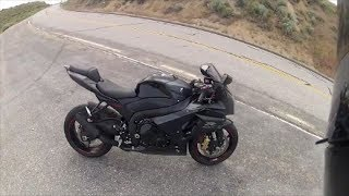 I ride a 2012 GSXR 1000 plus more twistys