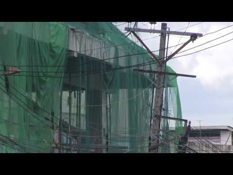 BOHOL BUILDING COLLAPSE UPDATE ON THE DEMOLITION + STREET PEOPLE ASKING FOR MONEY NOT ALLOWED