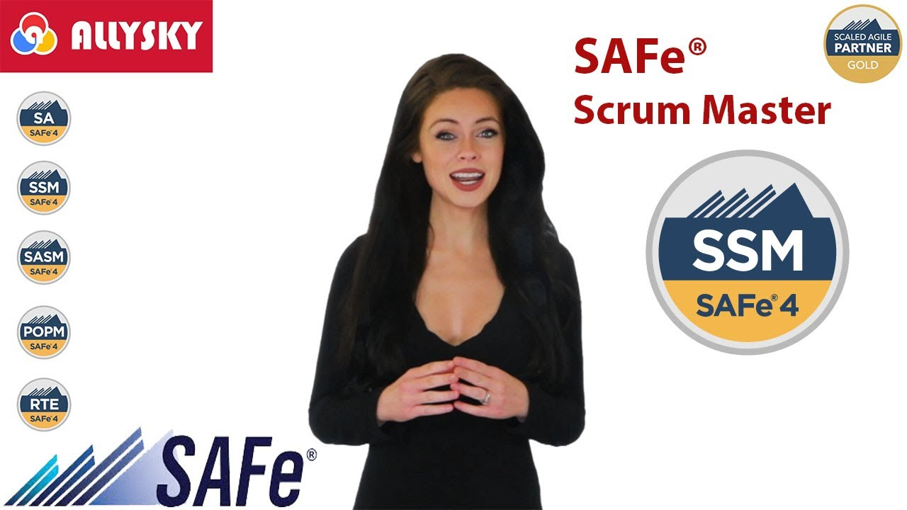 Scaled Agile - SAFe Scrum Master with SAFe 4 6 SSM Certification