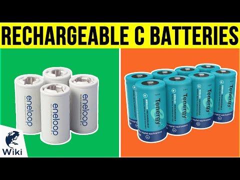 7 Best Rechargeable C Batteries 2019