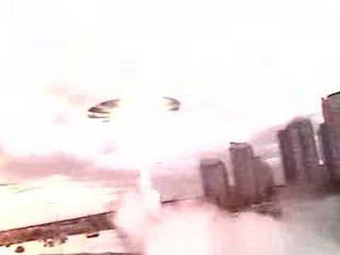 Filmmaker attacked by aliens.