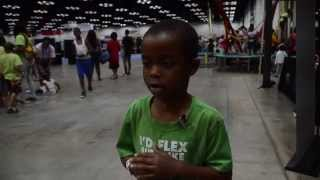 Family Fun Zone - Kids learn about being healthy while having fun