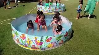 POOL PARTY I JPA Toddlers' PRESCHOOL, Best Preschool in Panchkula, Haryana, India