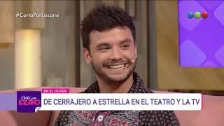 Agustín Casanova en el diván de Vero - Cortá por Lozano 2018