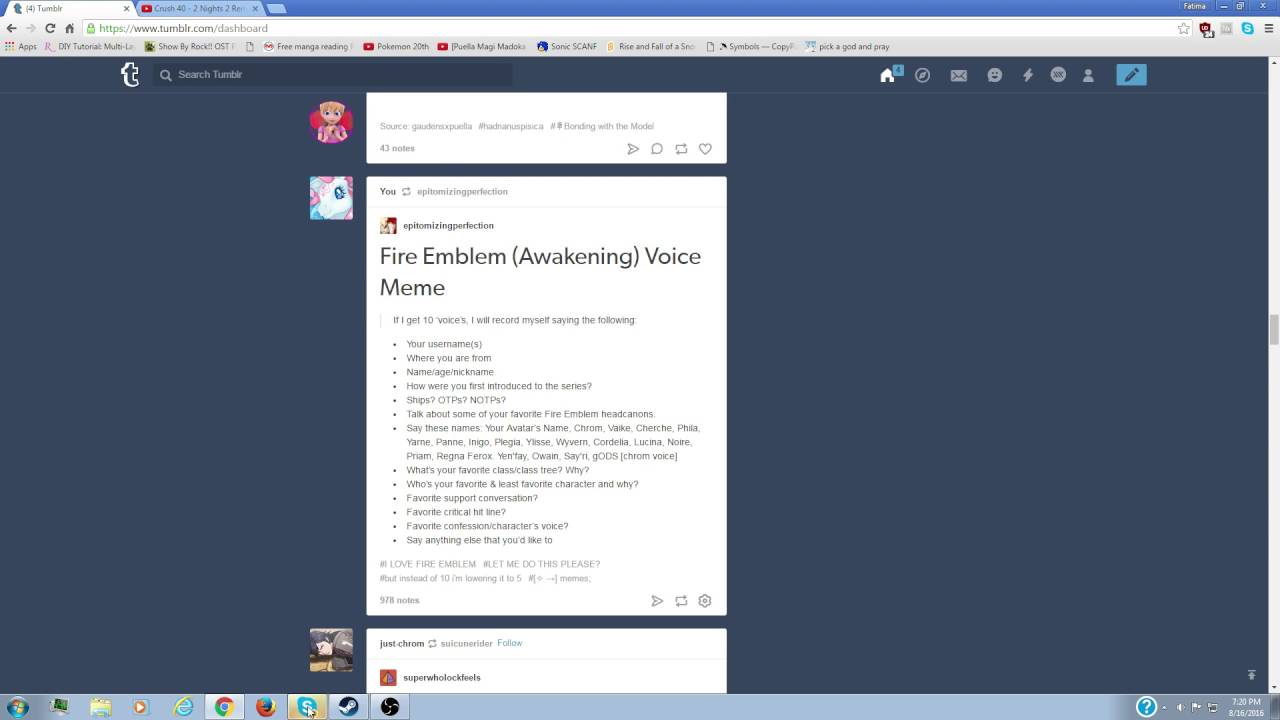 maxresdefault fire emblem voice challenge for tumblr youtube
